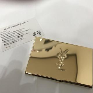 イヴサンローランボーテ(Yves Saint Laurent Beaute)の㊙️タイムセール値段戻します㊙️【新品】VIP限定yslカードケース(名刺入れ/定期入れ)