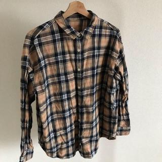 GU - GU ネルシャツ チェック レディースサイズXL