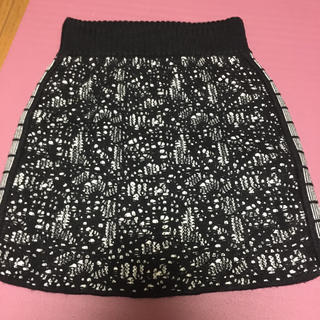 juemi  モザイクニットスカート