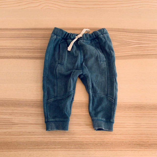 ZARA KIDS(ザラキッズ)のzara baby  オットマンパンツ②  ミディアムブルー 80 キッズ/ベビー/マタニティのベビー服(~85cm)(パンツ)の商品写真