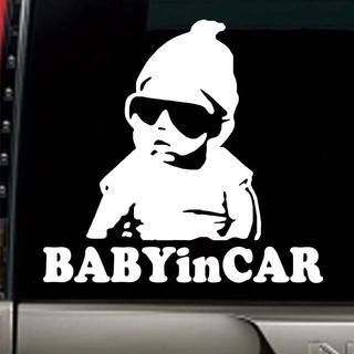 ベビーインカー 赤ちゃん ステッカー