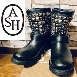 アッシュ(ASH)のASH  スタッズ×ストーン エンジニアブーツ(ブーツ)