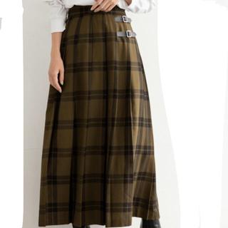 ローリーズファーム(LOWRYS FARM)のLOWRYS FARM チェックキルトスカート(ロングスカート)