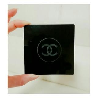 シャネル(CHANEL)の可愛い♪♪CHANEL シャネル コースター ノベルティ ブラック ココマーク(テーブル用品)