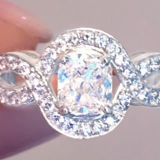 ハリーウィンストン(HARRY WINSTON)の《DIAMOND 1ctUP!》ダイヤモンド リング1.002ct ラディアント(リング(指輪))