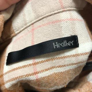 ヘザー(heather)のチェックシャツ(シャツ/ブラウス(長袖/七分))