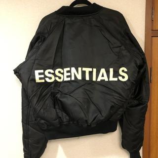 フィアオブゴッド(FEAR OF GOD)のfog essentials ボンバージャケット MA-1 【S】(フライトジャケット)
