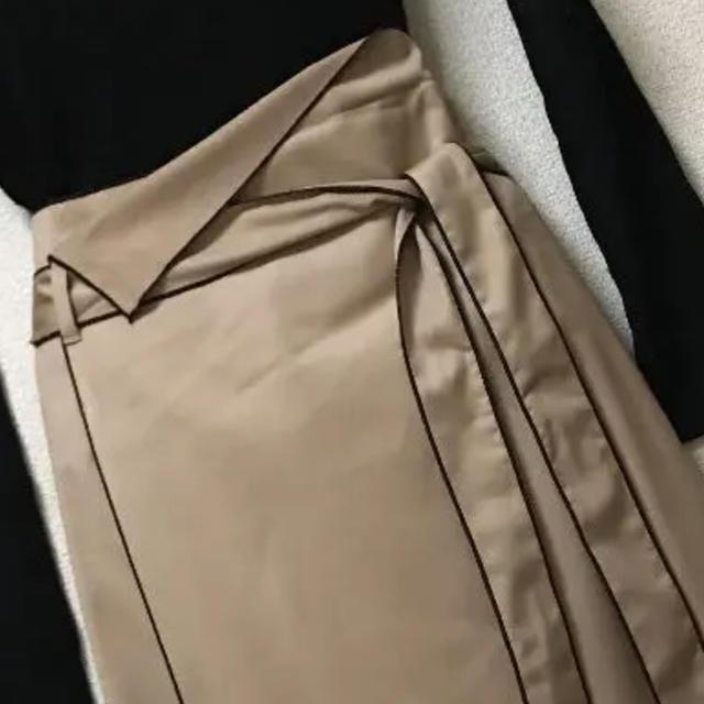 SCOT CLUB(スコットクラブ)のスコットクラブ系列 ロング巻きスカート風 レディースのスカート(ロングスカート)の商品写真