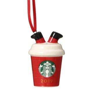 スターバックスコーヒー(Starbucks Coffee)のホリデー 2019 オーナメント レッドカップ(その他)