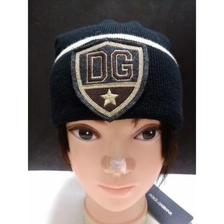 ドルチェアンドガッバーナ(DOLCE&GABBANA)の新品 送料込み ドルチェ&ガッバーナ ニットキャップ ウール100% イタリア製(ニット帽/ビーニー)