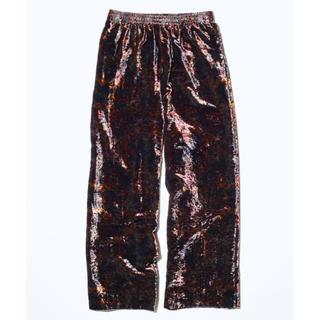 トーガ(TOGA)の【新品】TOGA VIRILIS 19AW Velvet print Pants(スラックス)