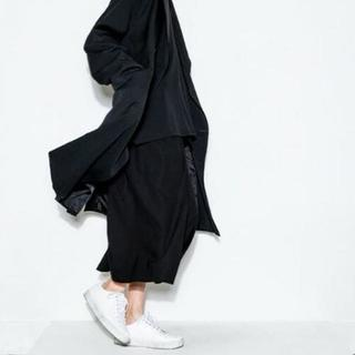 【2XL/ブラック】サルエルパンツ ガウチョパンツ ポケット有 @5(サルエルパンツ)