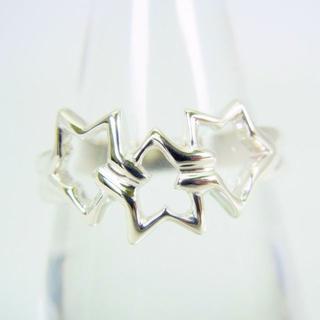 ティファニー(Tiffany & Co.)のティファニー 925 トリプルスター リング 15.5号[g118-6](リング(指輪))