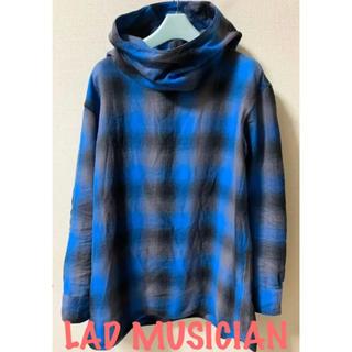 ラッドミュージシャン(LAD MUSICIAN)のラッドミュージシャン LAD MUSICIAN  フランネル チェック パーカー(パーカー)