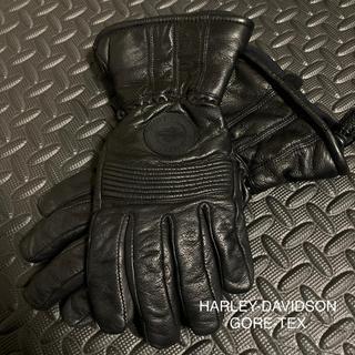 ハーレーダビッドソン(Harley Davidson)のHARLEY-DAVIDSON GORE-TEX グローブ Mサイズ 本革(手袋)