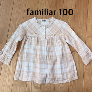 familiar - ファミリア リアちゃんチュニックブラウス100