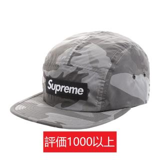 シュプリーム(Supreme)のSupreme Reflective Camo Camp Cap 黒(キャップ)