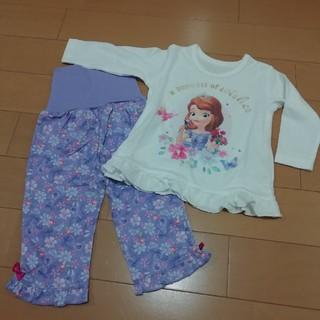 Disney - 【新品80cm】ソフィア 長袖パジャマ ディズニー