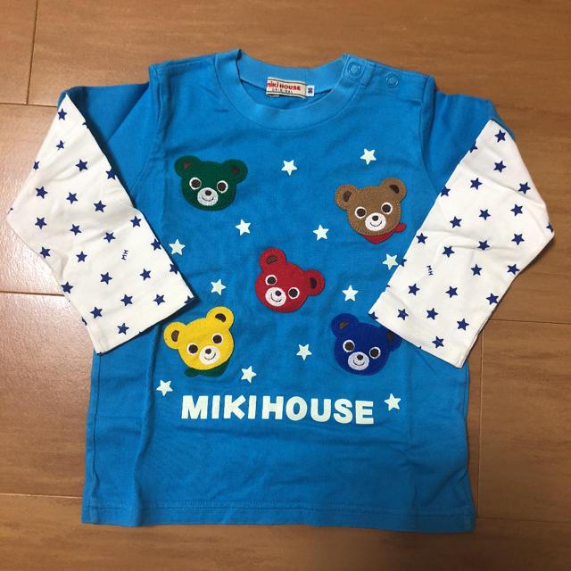 mikihouse(ミキハウス)のミキハウス プッチー 長袖 ロンT 90 キッズ/ベビー/マタニティのキッズ服男の子用(90cm~)(Tシャツ/カットソー)の商品写真