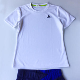 ルコックスポルティフ(le coq sportif)の【美品】le coq sportif 速乾ウェア Tシャツ L(ウェア)