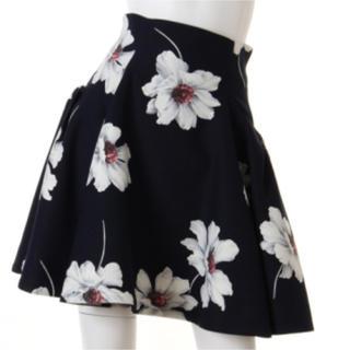 snidel - 雑誌掲載 モデル着用色 完売 ♡ Snidel マーガレット プリント スカート