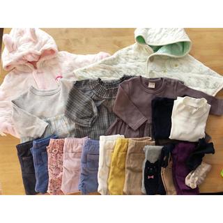 プティマイン(petit main)の女の子用 ベビー 子供服 80~90サイズ 20点セット(その他)
