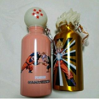 ドラゴンボール(ドラゴンボール)のKFC ドラゴンボールZ ドラゴンボトル二個セット(ゴールド、ピンク)(キャラクターグッズ)