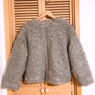 グレイル(GRL)の新品 GRL フェイクファージャケット(毛皮/ファーコート)