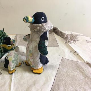 ミナペルホネン(mina perhonen)の寒がりペンギン親子(ぬいぐるみ)