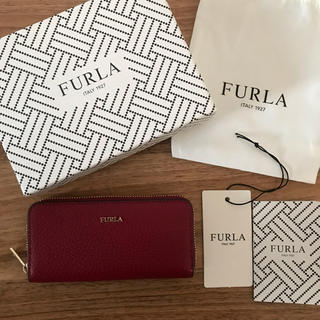Furla - 新品!フルラ ラウンドファスナー キーケース ボルドー