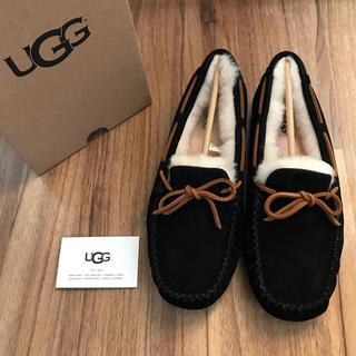 アグ(UGG)の新品!UGG モカシン ダコタ ブラック US9 26cm(スリッポン/モカシン)
