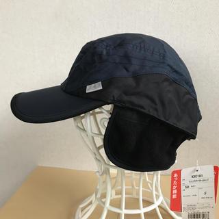 asics - アシックス ランニングイヤーウォームキャップ 紺F 定価3740円