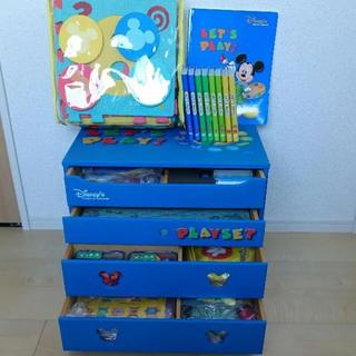 Disney - DWE お道具箱未使用!レッツプレイフルセット♪2014年購入☆