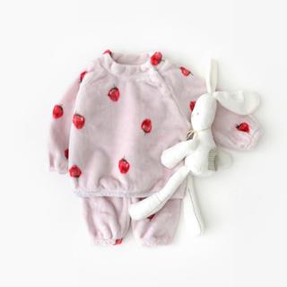 petit main - もこもこパジャマセット