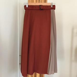 テチチ(Techichi)のテチチ 切替配色スカート(ロングスカート)