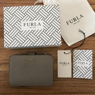 Furla - 新品!フルラ 二つ折り財布 サッビア グレー