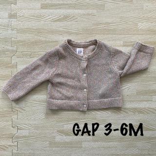 GAP - 【使用5回以下】GAP カーディガン ラメ【60㎝】
