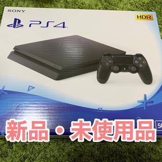 PlayStation4 - 新品未使用 PlayStation4 ジェットブラック 500GB ps4 本体