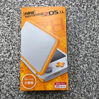 任天堂 - Nintendo ゲーム機本体 NEW ニンテンドー 2DS LL ホワイト/オ