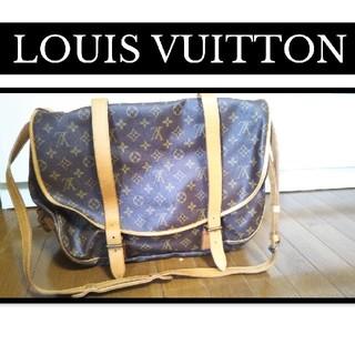 LOUIS VUITTON - LOUIS VUITTONルイヴィトン モノグラム ソミュール43 M42252