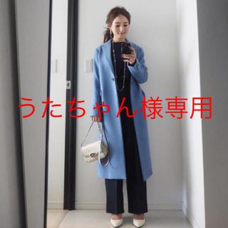 PLST - 美品 プラステ ウールモッサ ロングコート