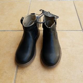 H&M - 新品タグ付き!H&M キッズ 黒ブーツ 19.5cm