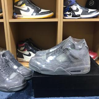 ナイキ(NIKE)の29cm Nike Air Jordan 4 kaws GLAY supreme(スニーカー)