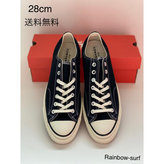 CONVERSE - 28cm ct70 converse black low ブラック 黒