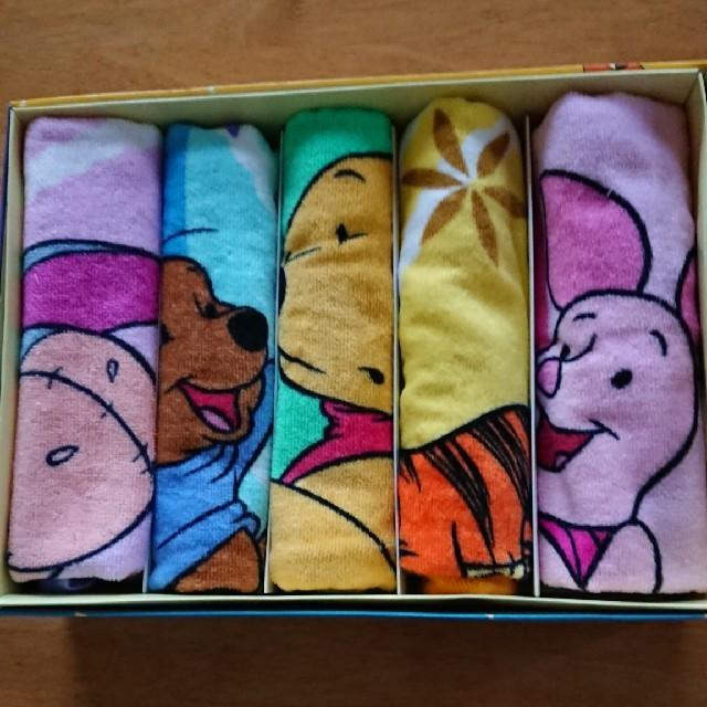 Disney(ディズニー)のフェイスタオル ディズニー5枚 エンタメ/ホビーのアニメグッズ(タオル)の商品写真