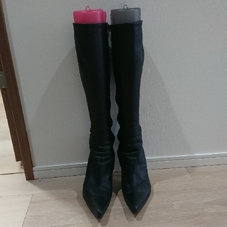 コメックス(COMEX)の【おおとり様専用】コメックス 本革ロングブーツ10cmヒール(ブーツ)