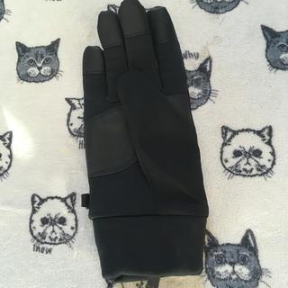 ユニクロ(UNIQLO)のユニクロ ヒートテック手袋 M右ブラック(手袋)