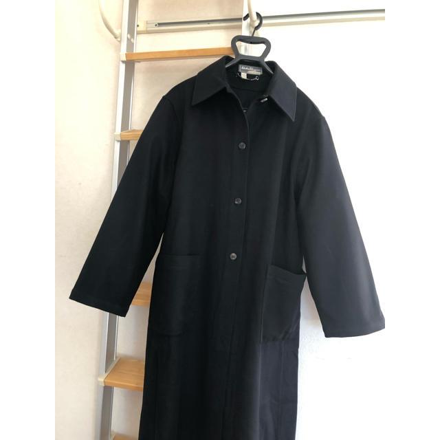 Salvatore Ferragamo(サルヴァトーレフェラガモ)のフェラガモ  ロングコート レディースのジャケット/アウター(ロングコート)の商品写真