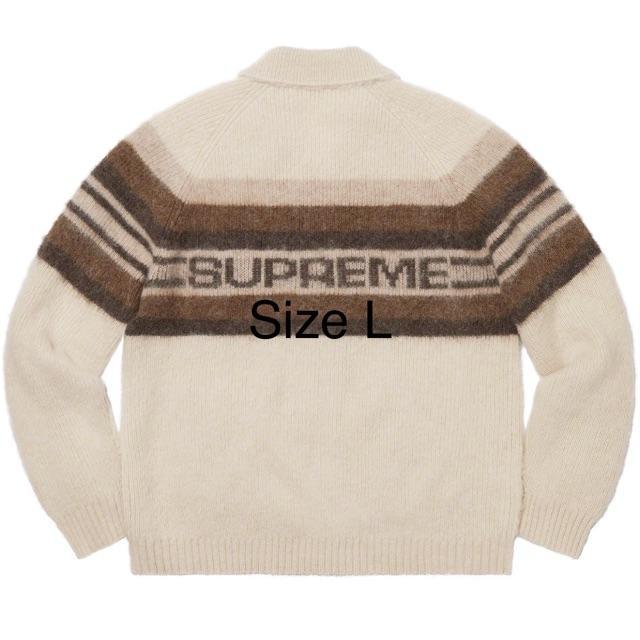 Supreme(シュプリーム)のSupreme Brushed Wool Zip Up Sweater メンズのジャケット/アウター(ダウンジャケット)の商品写真