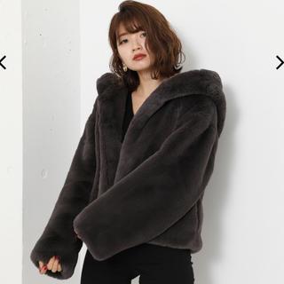 rienda - ★リエンダ今季新作大人気完売Faux Fur Hoodie Short CT★